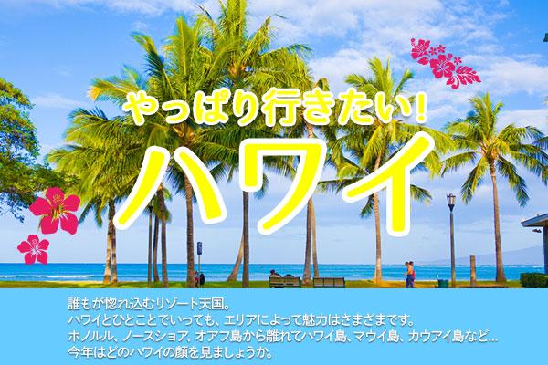 やっぱり行きたい!ハワイ