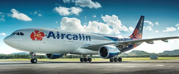 ニューカレドニアまで唯一の直行便エアカラン航空