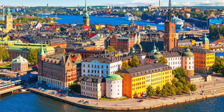 スウェーデン+デンマーク+フィンランド
