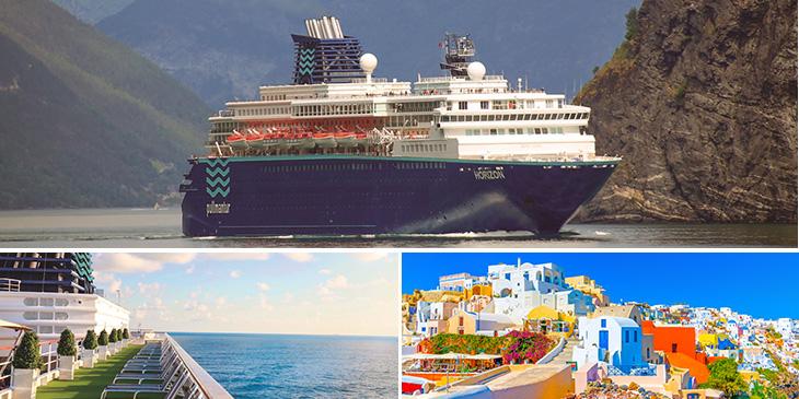 ギリシャの島々を巡るエーゲ海クルーズ7泊8日