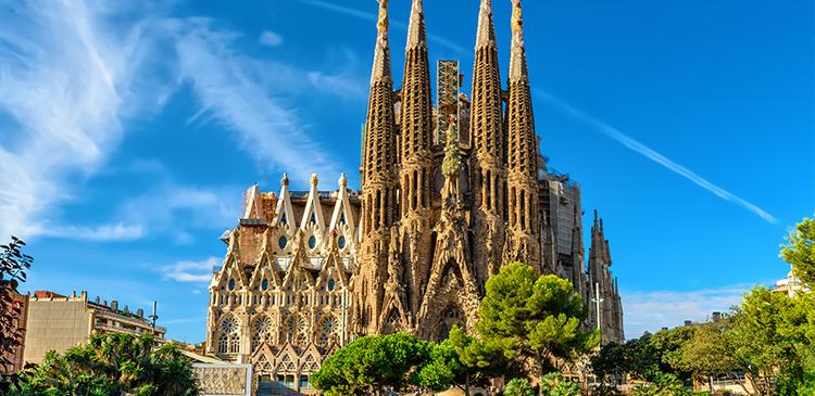 バルセロナ(スペイン)ツアー写真