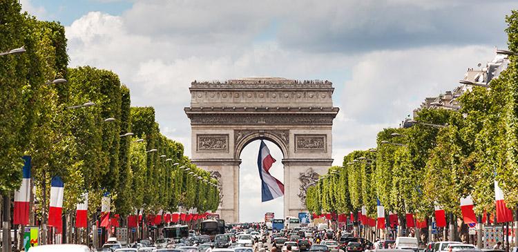 パリ(フランス)ツアー写真