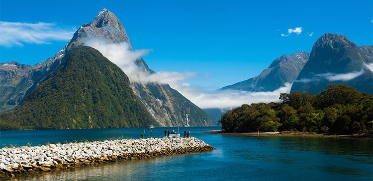 ニュージーランド3都市周遊ツアー写真