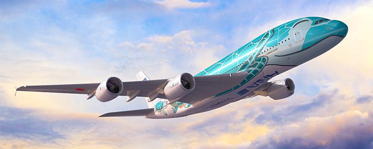 A380「フライングホヌ」就航で話題!全日空で行くハワイツアー(東京発)