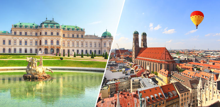 ウィーン+ミュンヘンツアー写真