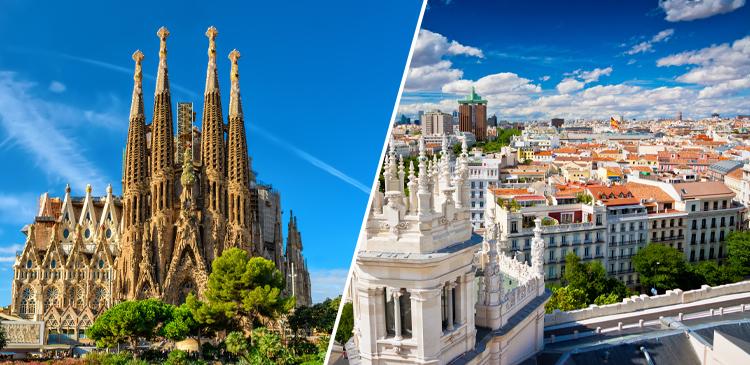 スペイン2都市ツアー写真