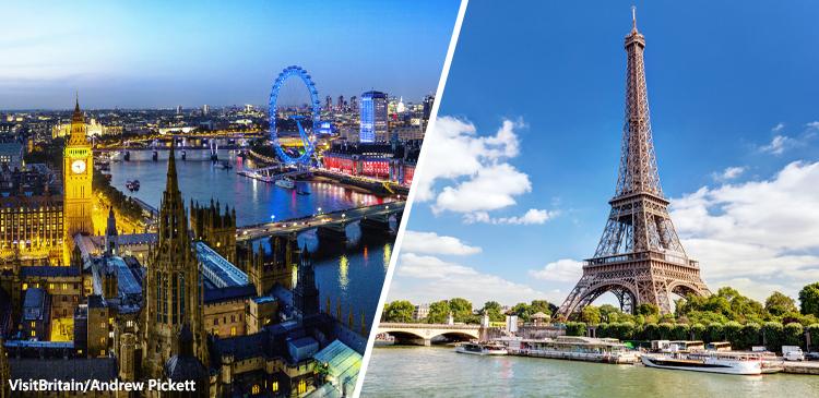 ロンドン+パリツアー写真