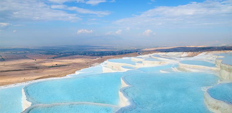 パムッカレ(トルコ)の写真