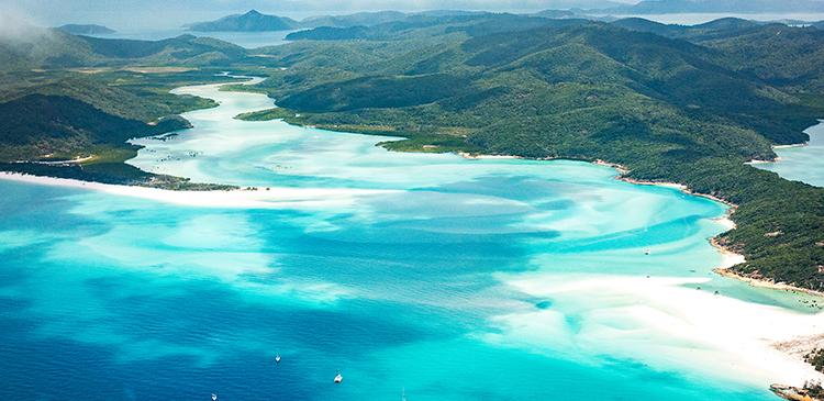 ホワイトヘブンビーチ(オーストラリア)の写真