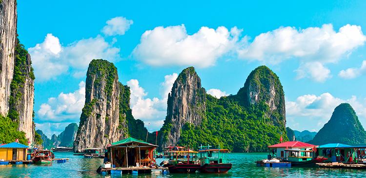 ハロン湾(ベトナム)の写真
