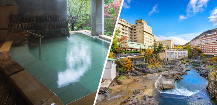 定山渓温泉(北海道)ツアー写真