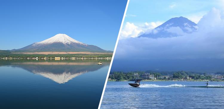河口湖(山梨県)ツアー写真