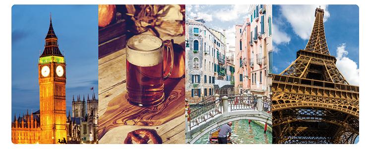 旅×お酒 ゆったり、家飲み部。ヨーロッパ特集
