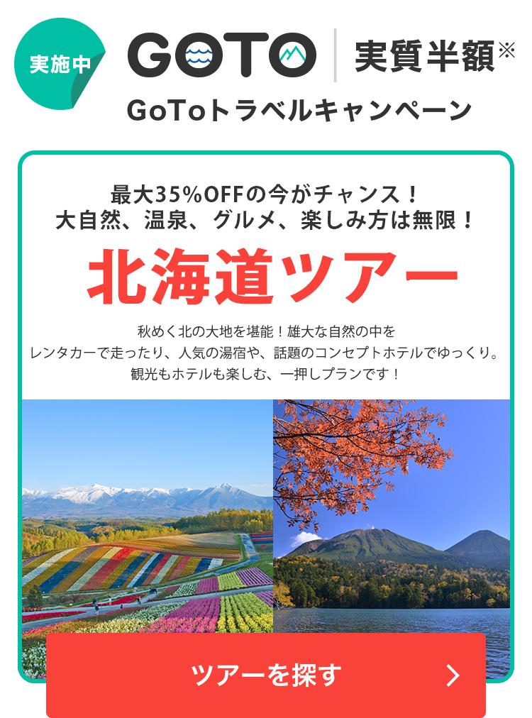 大自然、温泉、グルメ、楽しみ方は無限!北海道ツアー