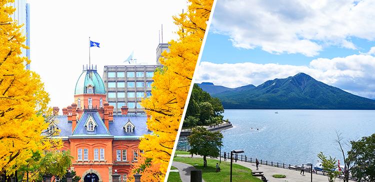 札幌+支笏湖温泉 レンタカー付き ツアー写真