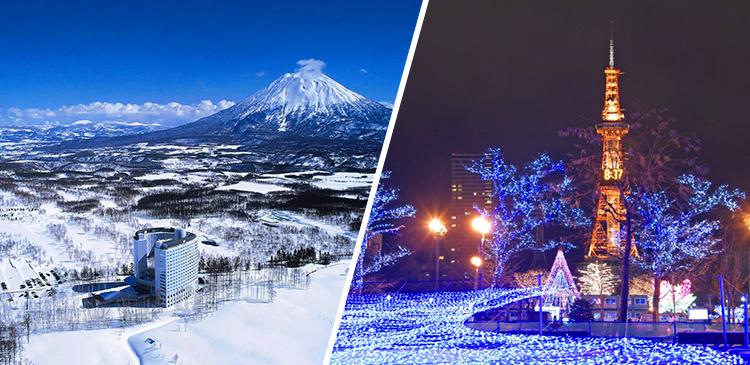 ニセコビレッジ東山+札幌 ツアー写真