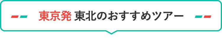 東京発 東北のおすすめツアー