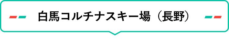 白馬コルチナスキー場(長野)