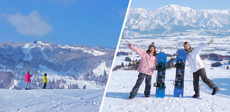 上越国際スキー場(新潟)ツアー写真