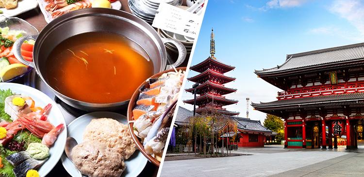 ちゃんこ道場(両国)ツアー写真