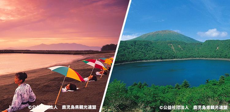 指宿温泉+霧島 ツアー写真
